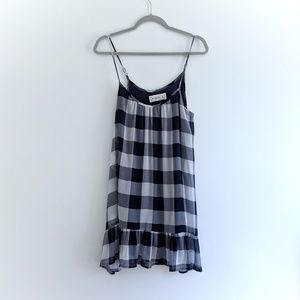 Abercrombie & Fitch - Blue and White Plaid Dress